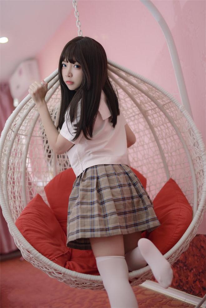 喵糖映画-VOL.034格子裙[37P/802MB]