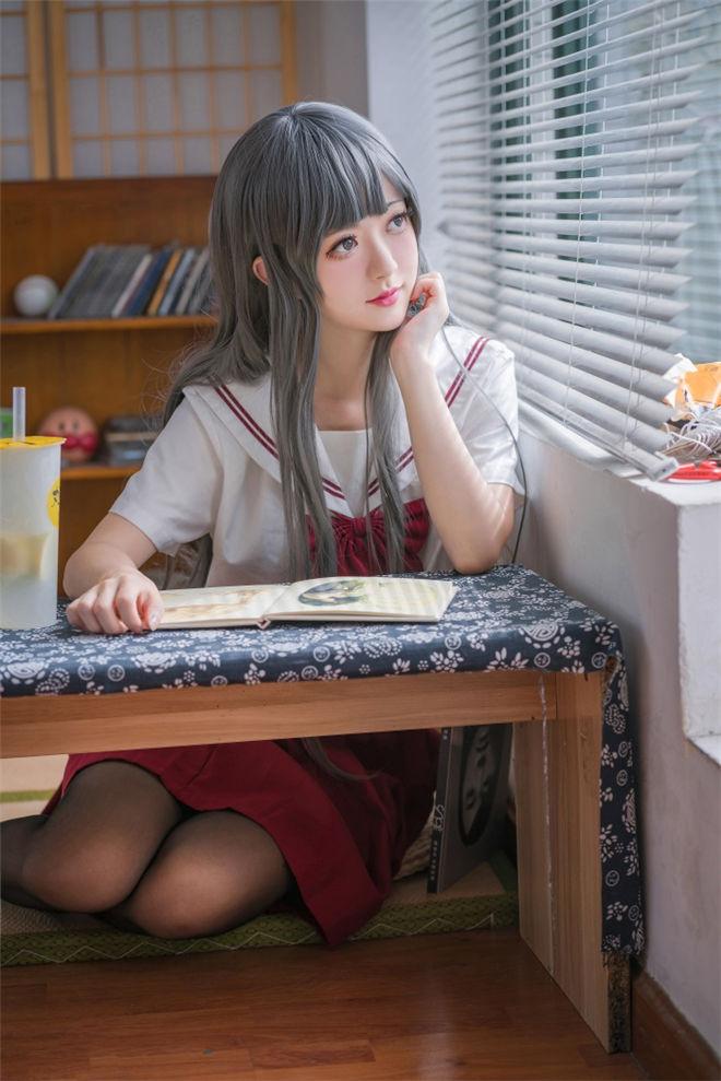 喵糖映画-VOL.017黑丝红裙蝴蝶结[40P/730MB]