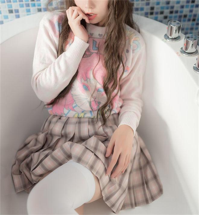 风之领域-No.088浴缸里的湿身少女[48P/204MB]
