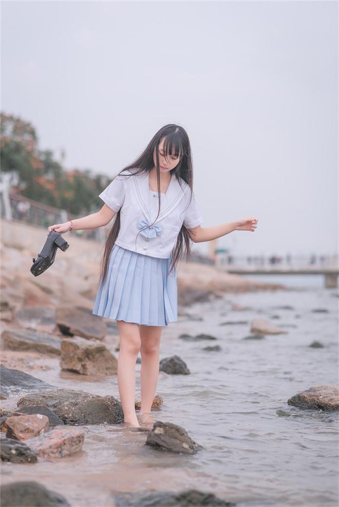 风之领域-No.155海边漫步[51P/150MB]